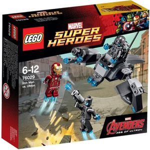ASSEMBLAGE CONSTRUCTION LEGO® Marvel Super Heroes 76029 Iron Man Contre Ul