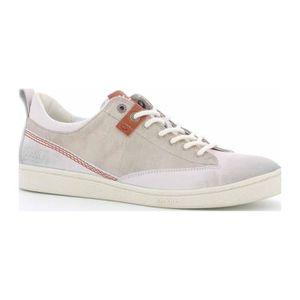 BASKET Santa Fe - Sneakers en cuir mélangé - blanc