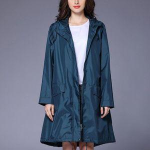 61da197f369d Imperméable - Trench Femmes Trench-coat Pluie femme Veste extérieure im
