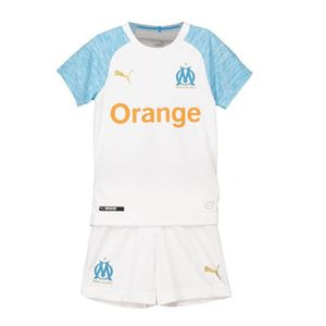 7e2410f64119a TENUE DE FOOTBALL Maillot OM Olympique de Marseille 18/19 Enfant Sui