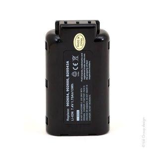 BATTERIE MACHINE OUTIL NX - Batterie outillage électroportatif 7.4V 17...