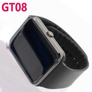 MONTRE CONNECTÉE GT08 Smart Watch (Black)