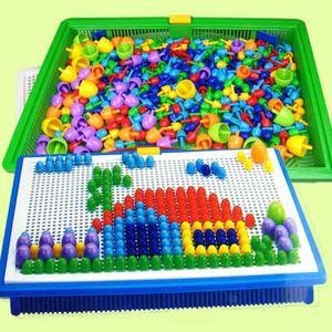 PUZZLE 296pcs Casse-tête jouets éducatifs en plastique po