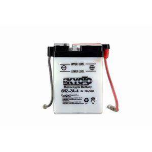BATTERIE VÉHICULE KYOTO - Batterie moto - 6n2-2a-4 - L 70mm W 47mm H