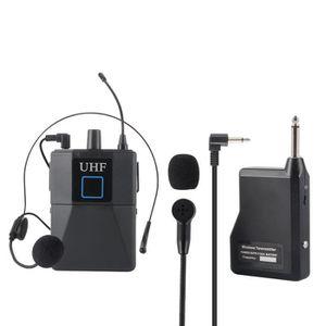 HAUT-PARLEUR - MICRO Système de microphone UHF à condensateur avec micr