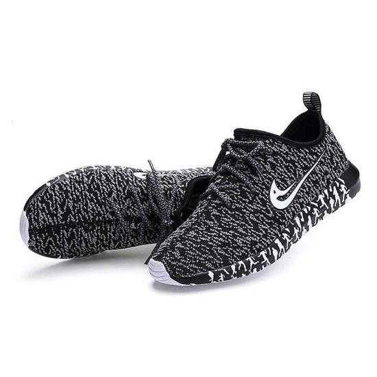 Basket homme - ultra comfortable Léger chaussures homme SMG-XZ428 Noir Noir - Achat / Vente basket
