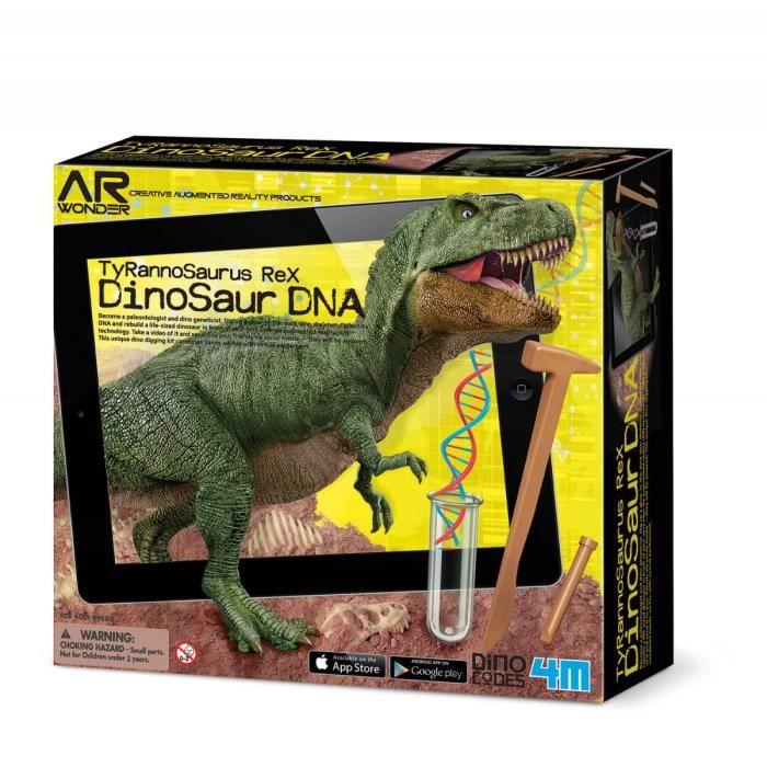 4M AR WONDERS Kit scientifique adn - Tyrannosaurus rex