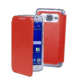 MUVIT Mip Etui Crystal Folio Luxe Rouge Samsung Galaxy Grand Plus