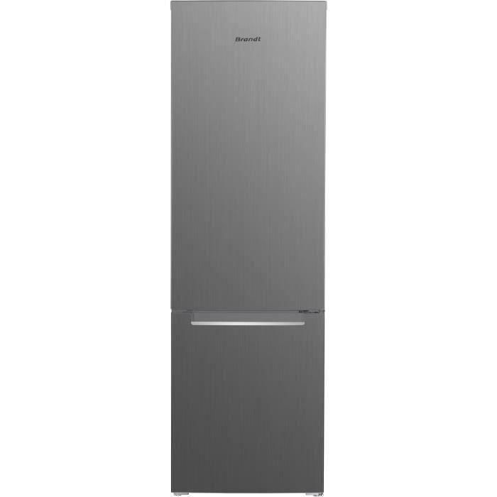 BRANDT BSC7507X - Réfrigérateur combiné 264 L (199L + 65L) - Froid statique - A+ - L 55 cm x H 176 c