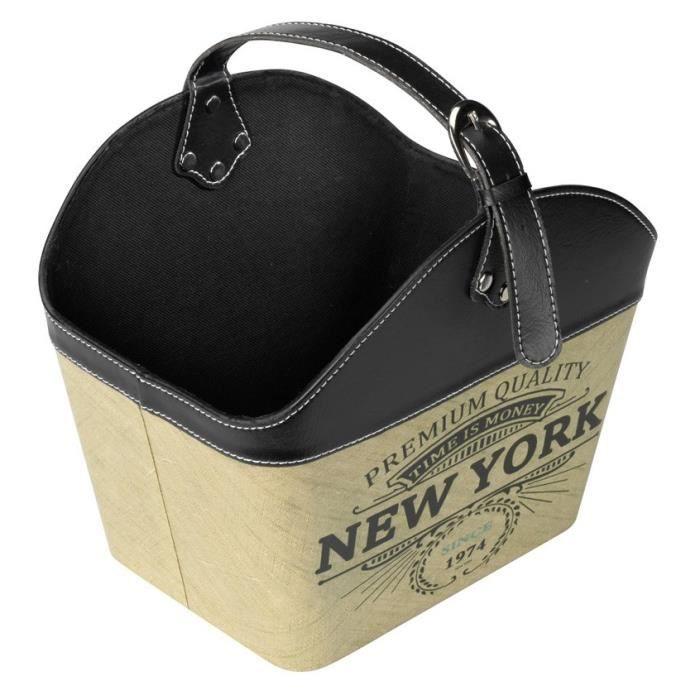 D&D Panier Basket New York - 35x24x38cm - Pour chat