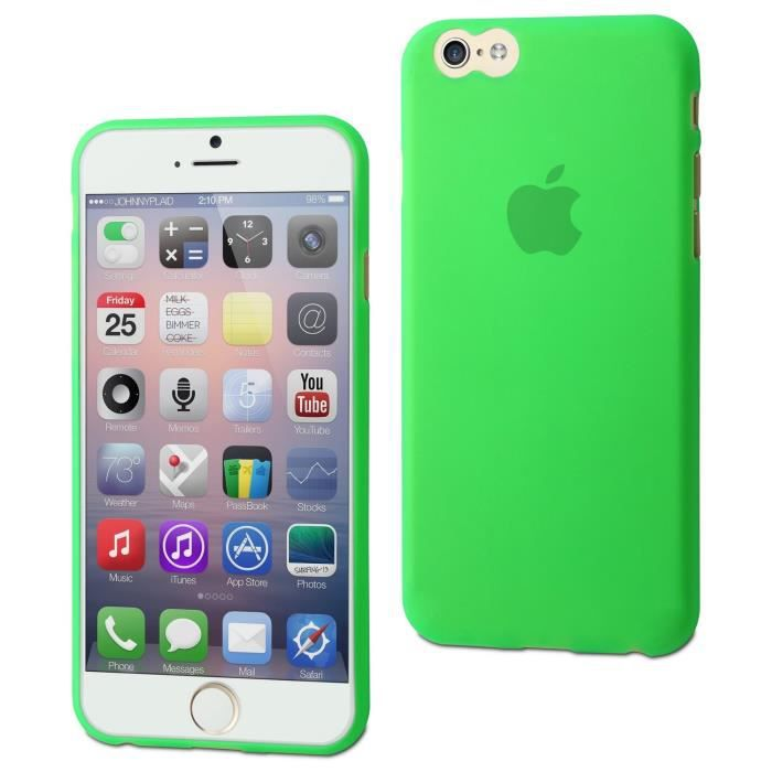 MUVIT Coque Thingel - Apple Iphone 6 / 6s - Vert Menthe