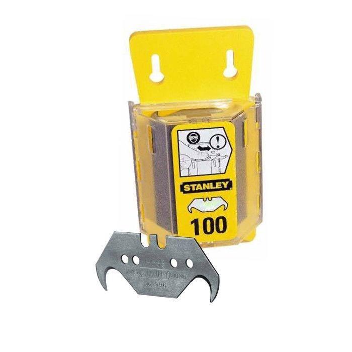 STANLEY 100 lames de couteaux 1996 avec trou