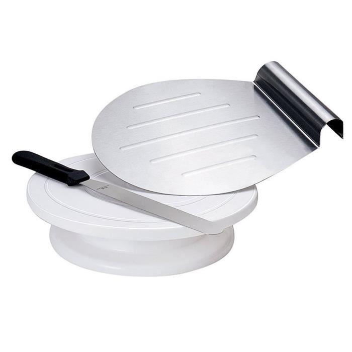 ENSEMBLE PÂTISSERIE GA Homefavor set composé d'un Assiettes à gâteau t