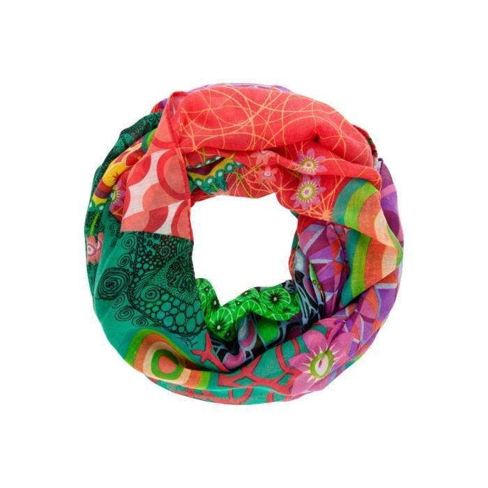 242d30c70ba FOULARD DESIGUAL ANNELISE - Achat   Vente echarpe - foulard ...