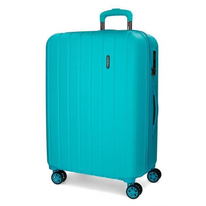 VALISE - BAGAGE Bois Movom valise moyen rigide 65cm Turquoise