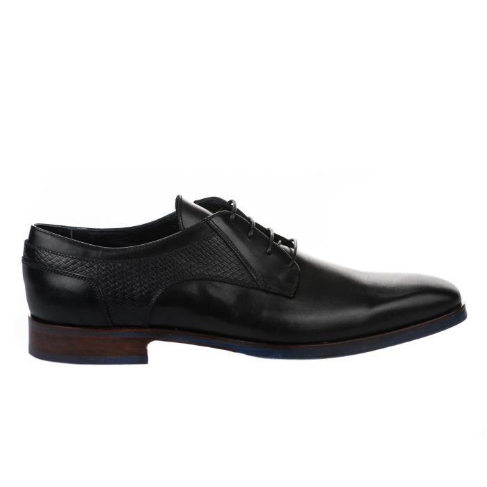 Chaussures à lacet homme - DANIEL KENNETH - Noir - 2815A F.488 - Millim