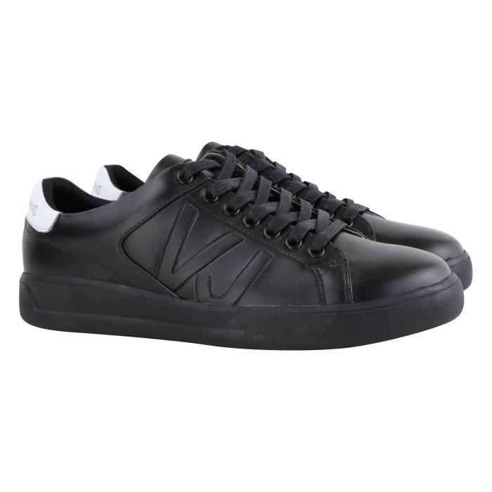 Versace Jeans Chaussure basse Noir logoté BSH2 (Noir - 45) Noir Noir ... 136101c4b0f
