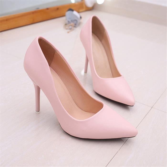 34 Escarpin Léger Arrivee 40 Femme Noir rose Extravagant Respirant blanc  Confortable Nouvelle Chaussures xxSgq4 72efdb871ec