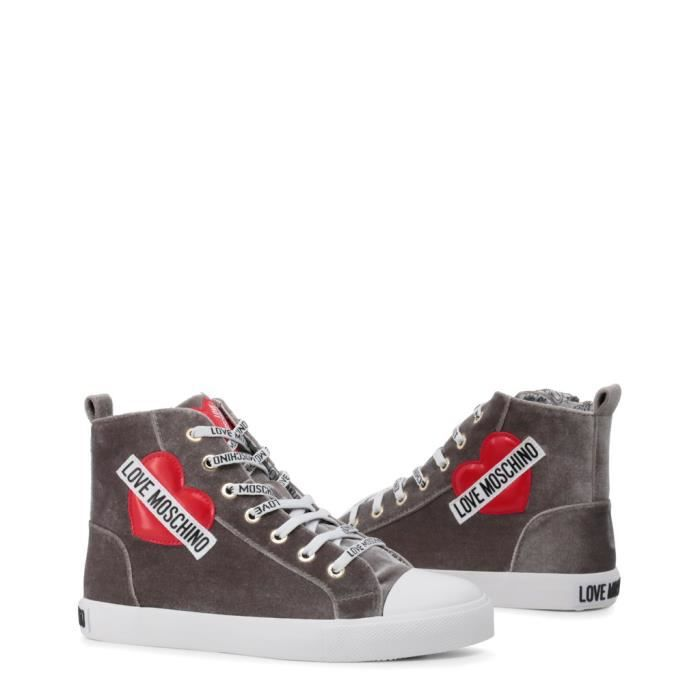 ja15023g16if Femme 001a Pour Moschino Love Sneakers Gris FwtqxXIERn