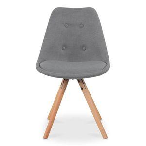 Chaise scandinave tissu achat vente chaise scandinave for Chaise scandinave tissu