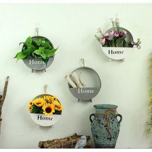 Winomo 2 Pcs Murale En Ceramique Pots De Fleurs Pot De Fleurs A