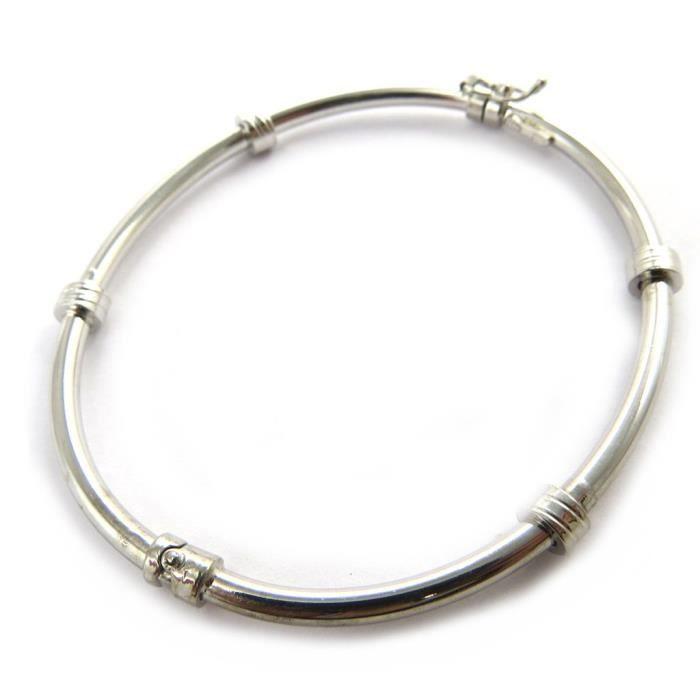 Les Trésors De Lily [M7302] - Bracelet argent Thai rhodié