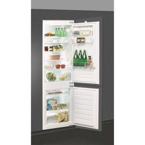 WHIRLPOOL ART6502/A+ - Réfrigérateur congélateur bas encastrable - 275L (195+80) - Froid statique - A+ - L 54cm x H 177cm