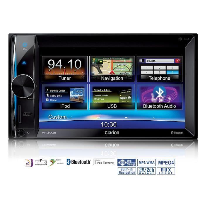 CLARION NX302E Autoradio GPS 6.5\