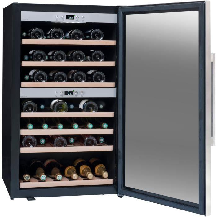 LA SOMMELIèRE ECS70.2Z - Cave à vin de service - 66 bouteilles - Pose libre - Classe A - L 59,5 x H