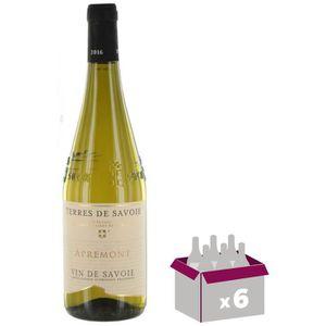 VIN BLANC TERRES DE SAVOIE - Apremont - 2017- Vin de Savoie