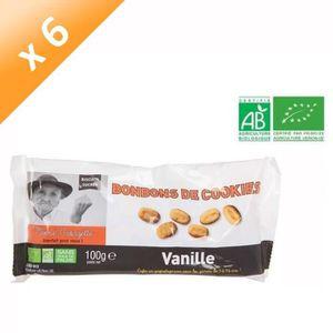 CONFISERIE DE SUCRE Bonbon Cookie Vanille Bio - 100 g x6