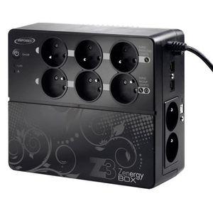 ONDULEUR Infosec onduleur Z3 Zenergy Box - 1000VA 8 prises