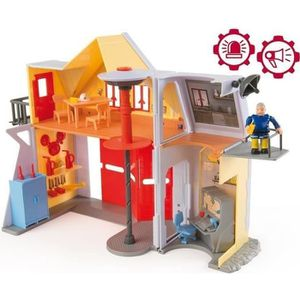 UNIVERS MINIATURE SAM LE POMPIER Caserne de pompier