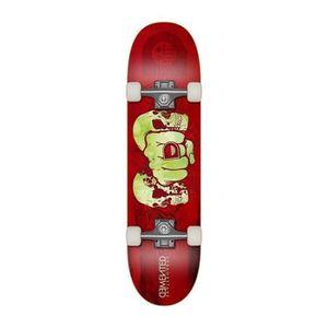 SKATEBOARD - LONGBOARD DEMENTED Skateboard - Mixte - Rouge reptilien