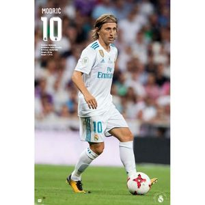 AFFICHE - POSTER Poster Football - Real Madrid, Luka Modric Action