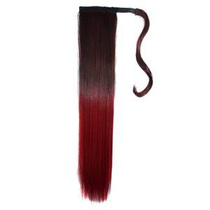 TATOO - BIJOU DE CORPS Color Magic Dégradé Couleur cheveux longs et lisse