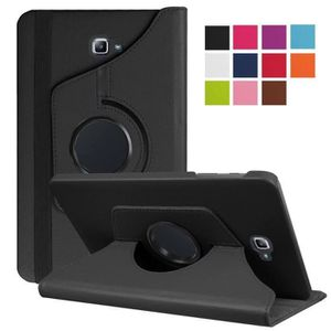 HOUSSE TABLETTE TACTILE Coque Samsung Galaxy Tab A6 10.1 - 360 Rotation Co