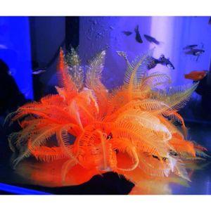 Aquarium artificielle faux douce orange herbe usine de for Vendeur aquarium