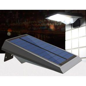APPLIQUE EXTÉRIEURE Applique d'extérieur solaire LED avec détecteur de