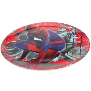 ASSIETTE - PLATEAU BÉBÉ Repas avec Spiderman - Assiette Plate 20cm Mélamin