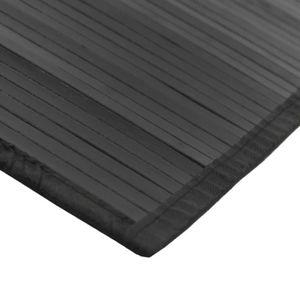 Tapis bambou noir - Achat / Vente pas cher -