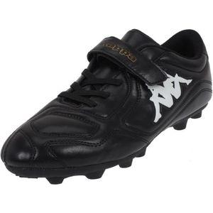 CHAUSSURES DE FOOTBALL Chaussures football moulées Parek fg kid noir - Ka  ... 367f274cea776