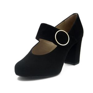 BABIES Escarpin Chaussures, babies, daim noir, Nagase, UN