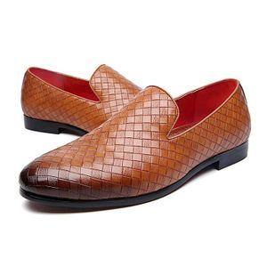 RICHELIEU Chaussures de Ville en Cuir Gaufré Oxfords Richeli