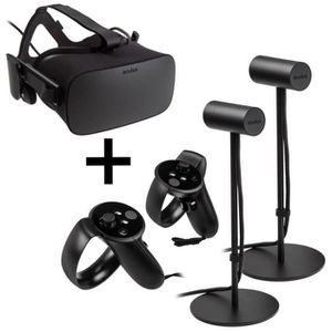 LUNETTES 3D Oculus Rift Virtual Reality Headset + Touch Motion