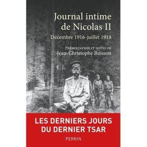 LIVRE HISTOIRE MONDE Livre - journal intime de Nicolas II