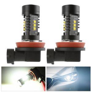 PHARES - OPTIQUES H8 / H9 H11 120W CREE Kit ampoule DRL LED pour de