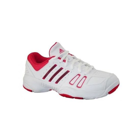 size 40 8eae7 2715d Edge Court K Rose Chaussures Fille Adidas Blanche wOZnqI8