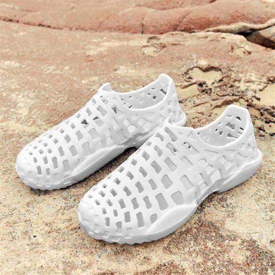 Baskets Femme MS chaussures Durable Poids Léger 2018 personnalité Antidérapant Grande Taille Nouvelle arrivee Sneakers Respirant Blanc Blanc - Achat / Vente basket