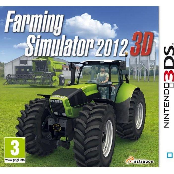 farming simulator 3ds achat vente jeu 3ds farming simulator 3ds cdiscount. Black Bedroom Furniture Sets. Home Design Ideas